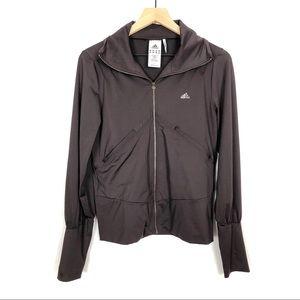 Adidas Clima 365 Lite Brown Track Full Zip Jacket